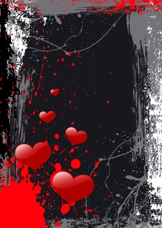 Valentine Background- Vector Illustration Vector