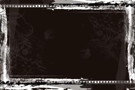 Film Reel Background Vector Stock Vector - 16106714