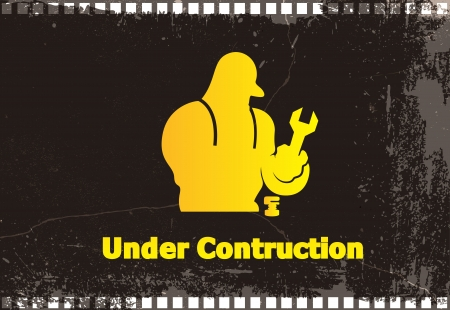 Under Construction - Vector Background Stock Vector - 16106710