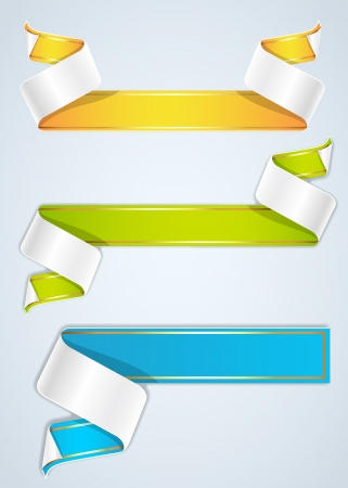 Vector Ribbon Banners Stock Vector - 16105001