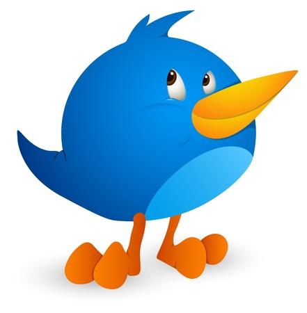 twitter: Twitter Bird Icon