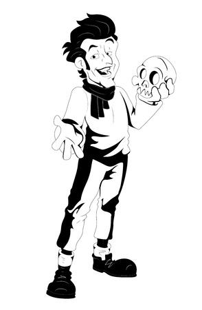 Comic Style Retro Magic Speller Stock Vector - 16439534