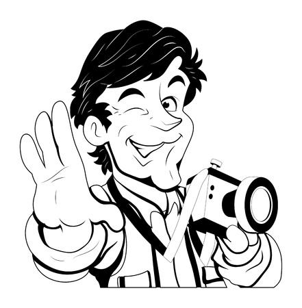 a cartoon film: Portrait Photographer