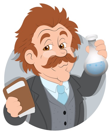 chemists: Scientist -  Character Illustration