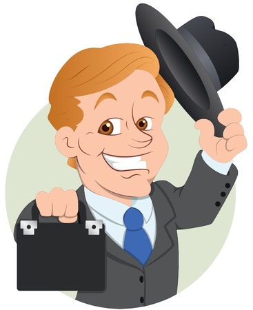 Salesman  Illustration Vector