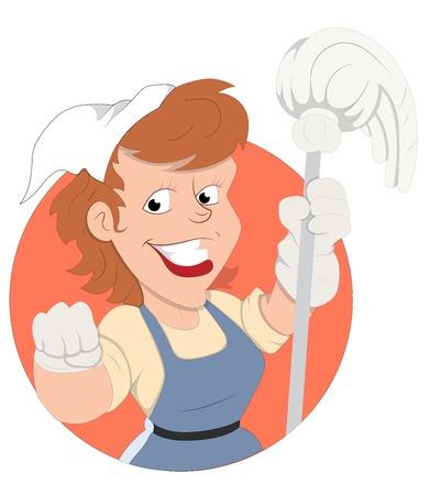 housekeeper: Housekeeper  Illustration