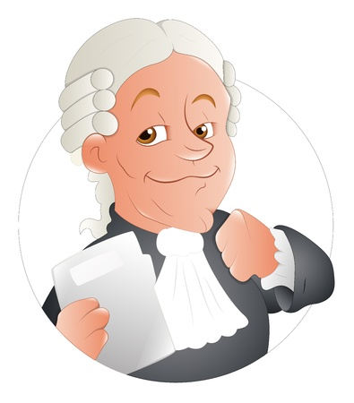 Magistrate  Illustration Stock Vector - 16775603