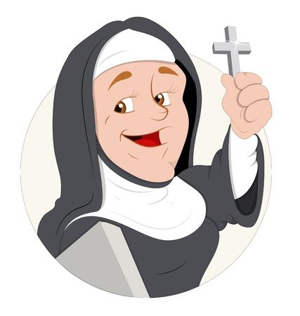 pr�tre: Illustration Nun