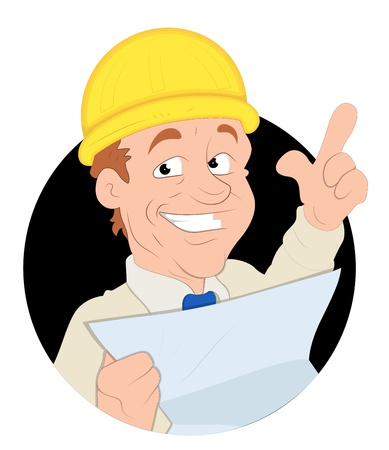 Foreman  Illustration Stock Vector - 16775457