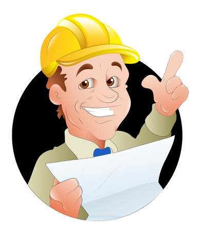 Engineer  Illustration Stock Vector - 16775667