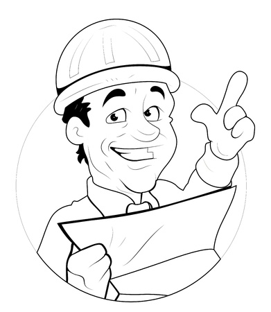 Engineer  Illustration Stock Vector - 16775301