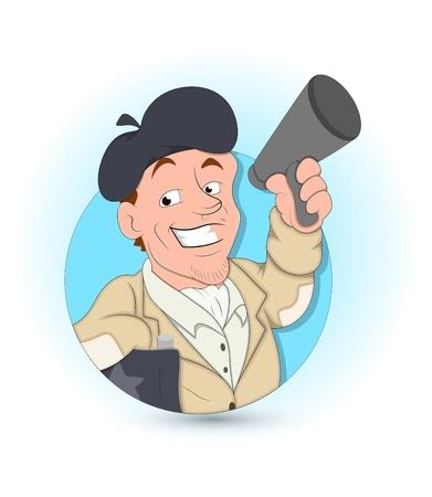 announcing: Cartoon Man Announcing