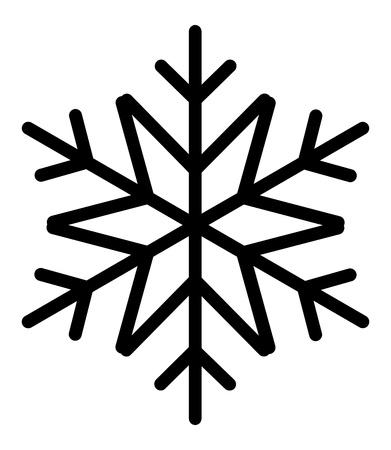 Vintage Snowflake Stock Vector - 16831774