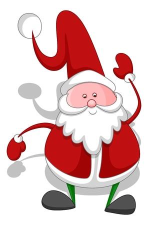 Cartoon Santa - Christmas  Stock Vector - 16832130