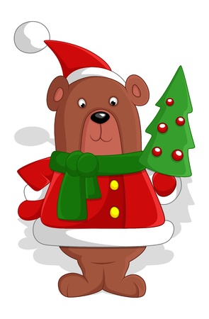 Bear - Christmas  Stock Vector - 16832128