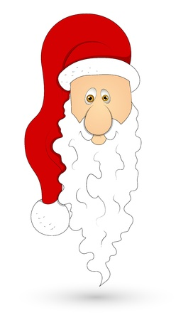 Santa Face   Stock Vector - 16832306