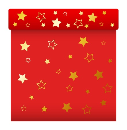 red gift box: Red Gift Box - Christmas