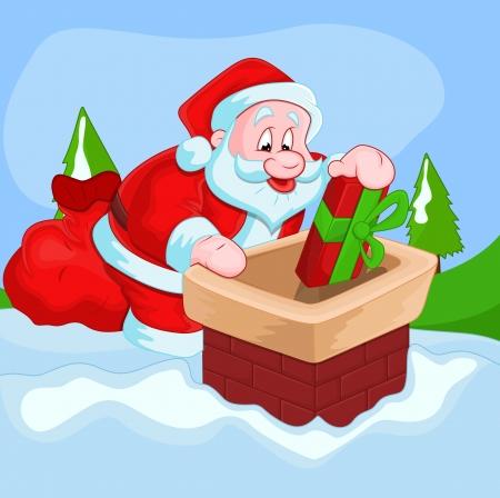 Christmas Santa Stock Vector - 16832310