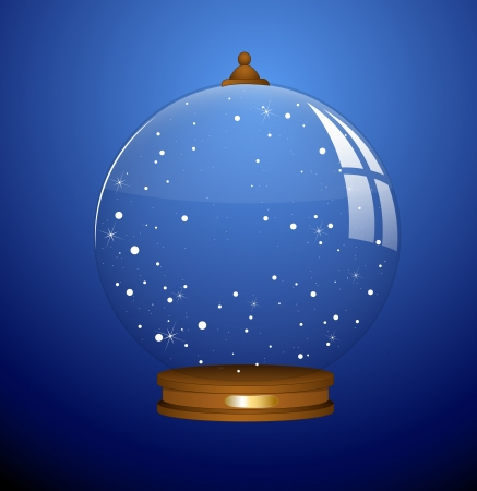Snow Globe - Christmas   Vector