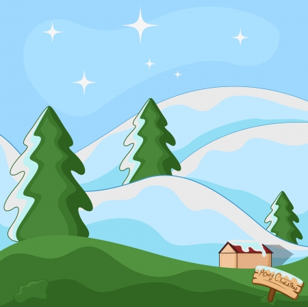 Christmas Background Illustration Stock Vector - 16832131