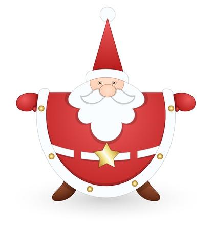 Classical Santa Stock Vector - 16832417