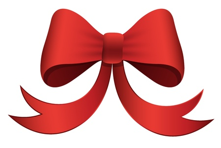Red Bow - Christmas Stock Vector - 16832520