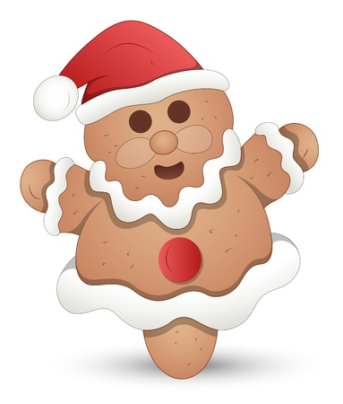 Gingerbread Man - Christmas  Vector