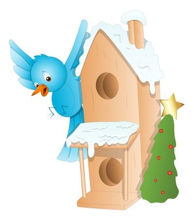 bluebird: Gingerbread House - Christmas