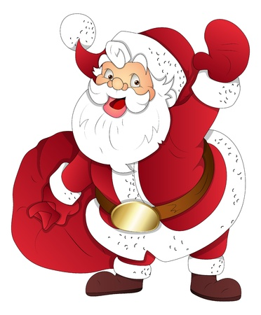 Santa Claus - Christmas   Vector