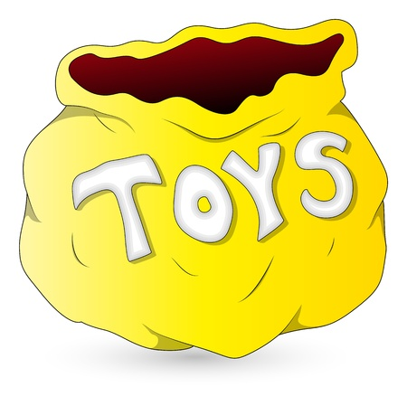 Toys Bag - Christmas  Vector