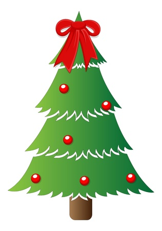 Classic Tree - Christmas Stock Vector - 16832198