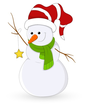 Snowman Stock Vector - 16832415