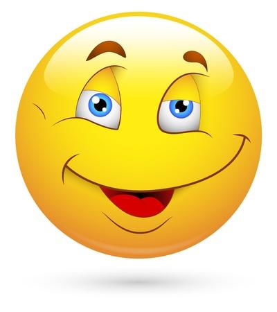 Smiley Vector Illustration in Vector Format Stock Vector - 18250254