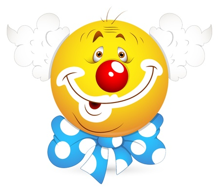 Smiley Vector Illustration - Joker Face Stock Vector - 18249819