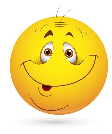 emoticone: Smiley illustrazione vettoriale - Sonny