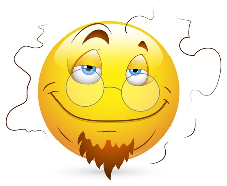 Smiley Vector Illustration - Stinky Face Vector