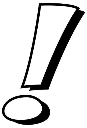exclamation mark: Signo de exclamaci�n