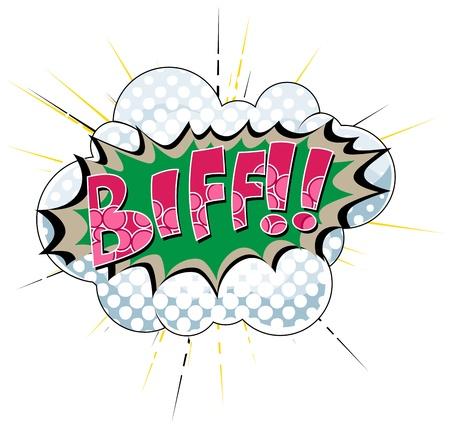 biff: Biff - Comic Expression  Text