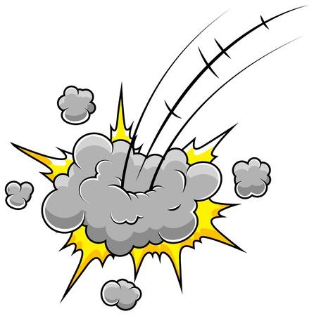 Funny Comic Blast Stock Vector - 19419734