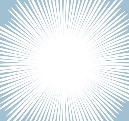 Comic Sunburst Background Stock Vector - 19419691