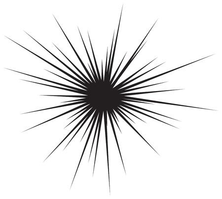 estrella caricatura: Comic Fondo de la explosi�n