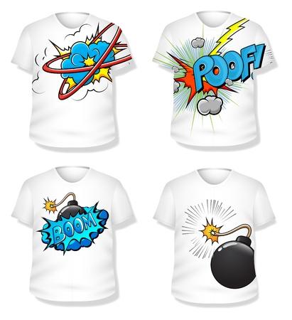 T-shirt Design   Stock Vector - 19419810