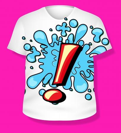 T-shirt Stock Vector - 19419796