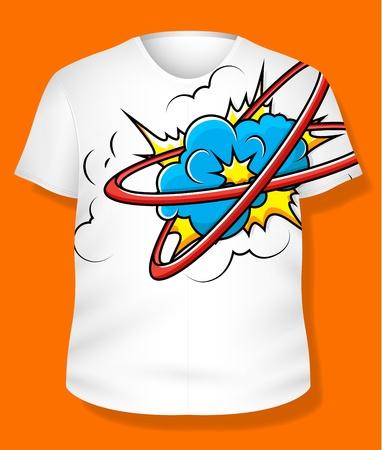 T-shirt Vetor Design Stock Vector - 19419791
