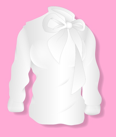 hoody: White Lady Shirt Design  Illustration Template