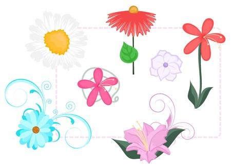 vectorized: Vectorized Flowers