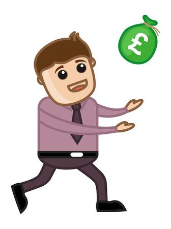 Money Coming - Vector Illustration Stock Vector - 21073737