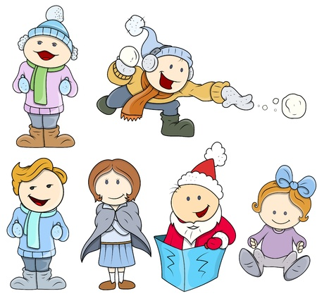 Cute Fun Vector Children Vector