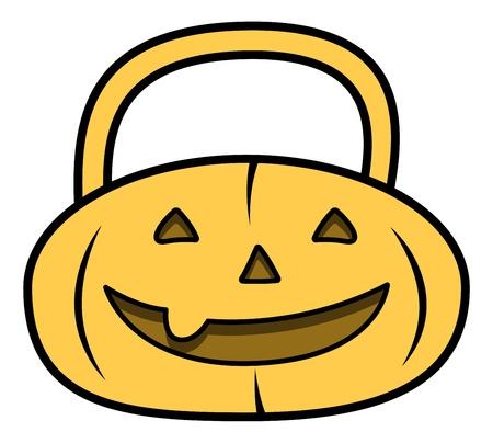 frightful: Jack O Lantern - Vector Illustration