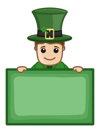 St  Patrick s Day - Business Cartoon Characters Vector